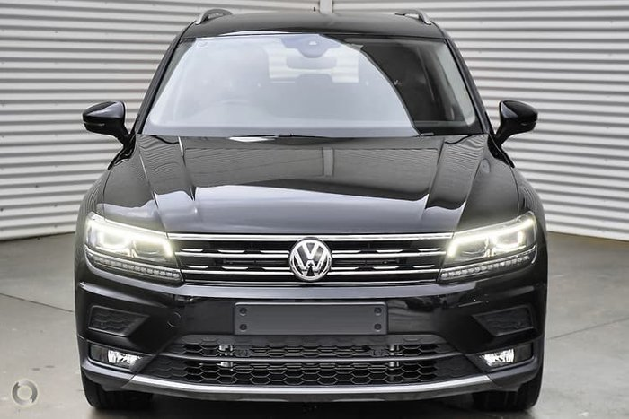 2020 Volkswagen Tiguan 132TSI Comfortline 5N MY20 Four Wheel Drive Black