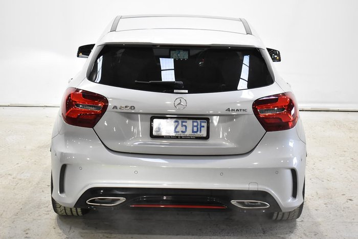 2017 Mercedes-Benz A-Class A250 Sport W176 Four Wheel Drive Silver