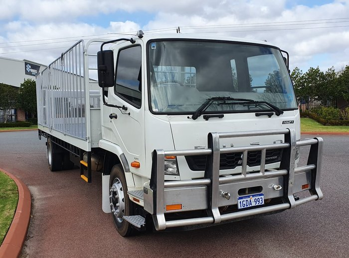 2015 FUSO 1627 FIGHTER WHITE