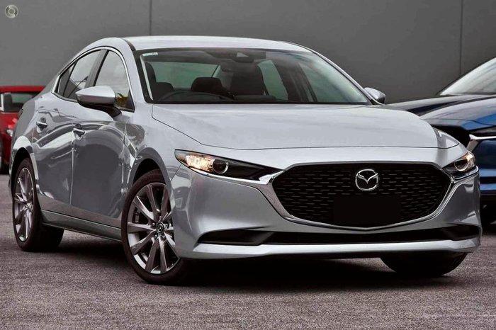 2020 Mazda 3 G25 Evolve BP Series Silver