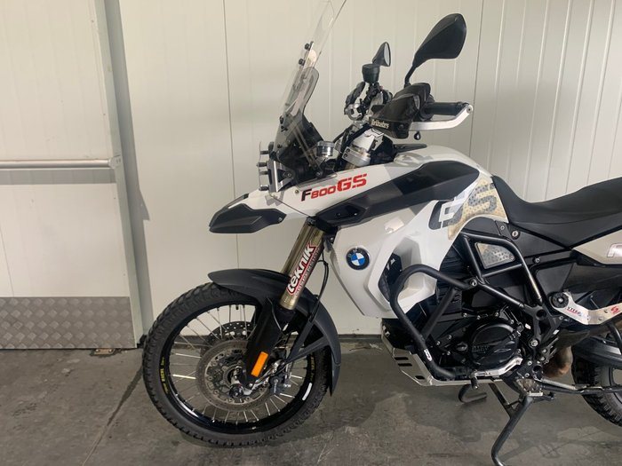 2011 Bmw F 800 GS White