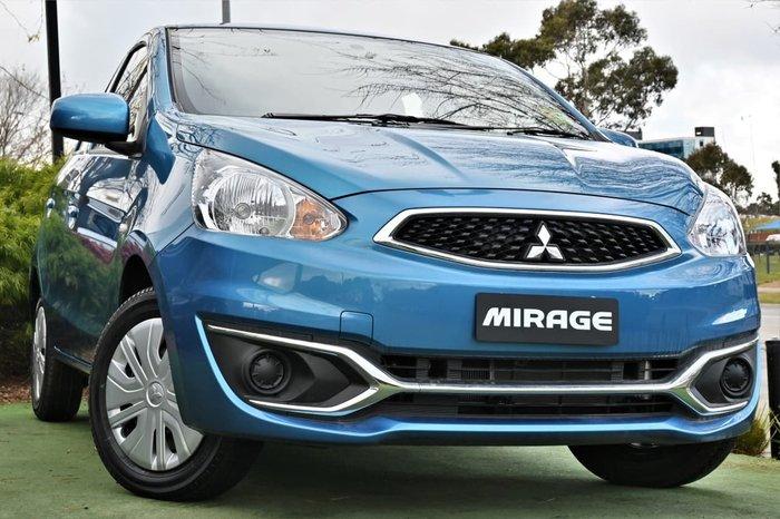 2019 Mitsubishi Mirage ES LA MY20 Blue