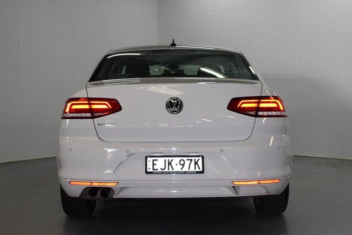 2018 Volkswagen Passat 132TSI Comfortline B8 MY19 White