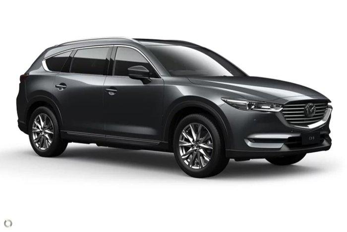 2020 Mazda CX-8 Asaki KG Series 4X4 On Demand Grey