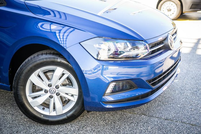 2020 Volkswagen Polo 85TSI Style AW MY20 Blue