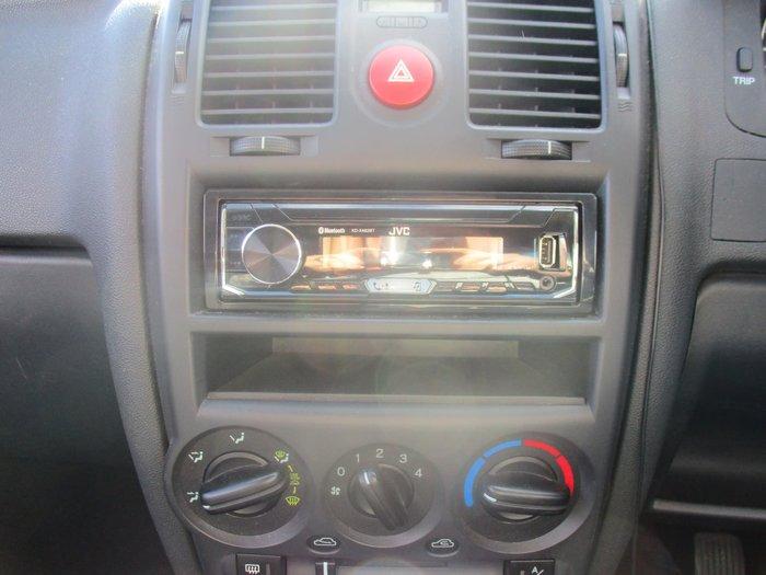 2008 Hyundai Getz SX TB MY07 Red