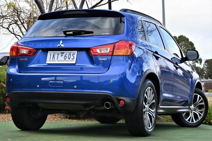 2016 Mitsubishi ASX XLS XB MY15.5 4X4 Constant Blue