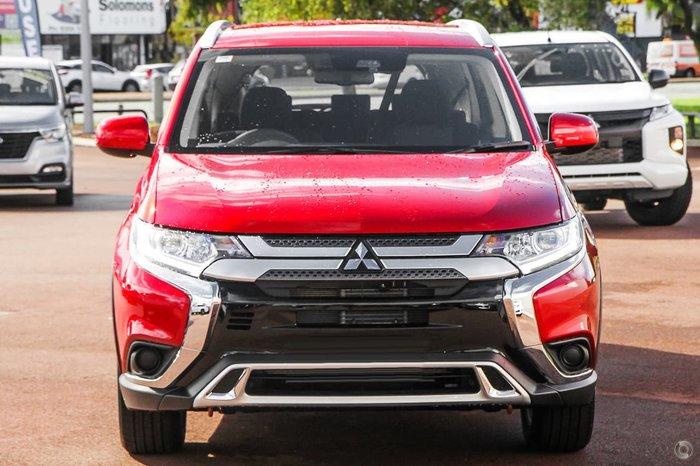 2018 Mitsubishi Outlander ES ZL MY18.5 Red