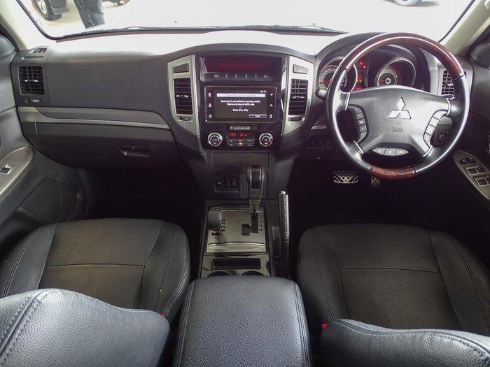 2018 Mitsubishi Pajero Exceed NX MY18 4X4 Dual Range Silver