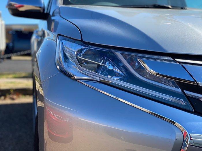 2019 Mitsubishi Pajero Sport GLS QE MY19 4X4 Dual Range Silver