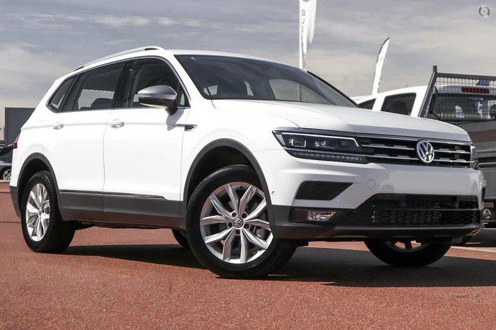 2019 Volkswagen Tiguan 110TSI Comfortline Allspace 5N MY19.5 White