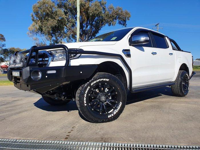 2020 Ford Ranger XLT PX MkIII MY20.75 4X4 Dual Range White
