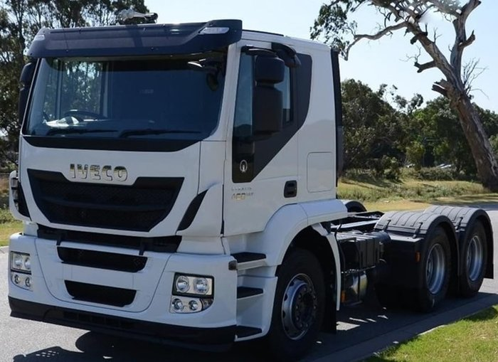 2019 IVECO ATI 460 6X4 - IN STOCK null null WHITE