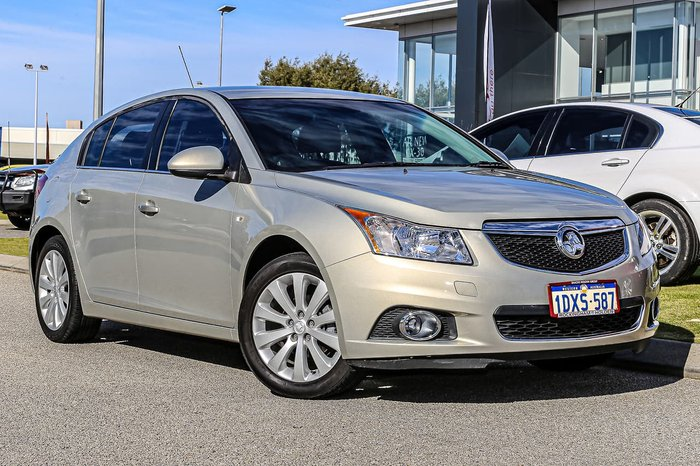 2012 Holden Cruze CDX JH Series II MY12 Silver