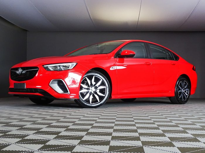 2018 Holden Commodore RS ZB MY18 4X4 On Demand Red