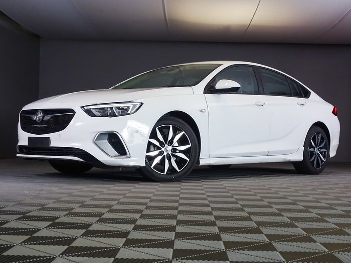 2018 Holden Commodore RS ZB MY18 4X4 On Demand White