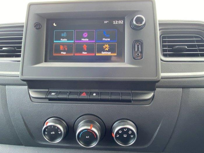 2020 Renault Master Pro 110kW X62 Phase 2 MY20 WHITE LWB AUTO