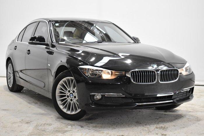 2014 BMW 3 Series 320d Luxury Line F30 Black