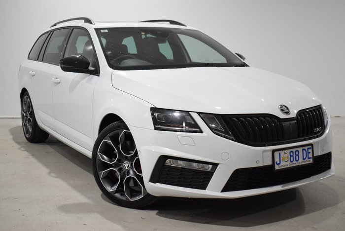 2019 SKODA Octavia RS 245 NE MY19 White