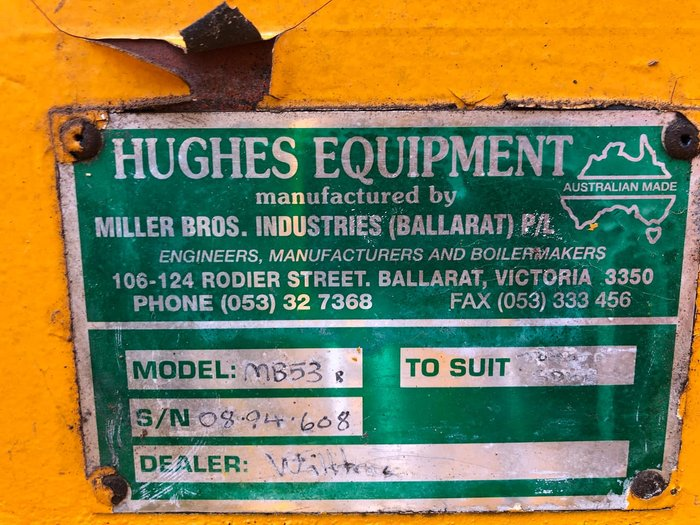 1994 MILLER BROTHERS INDUSTRIES MB53 null null Yellow