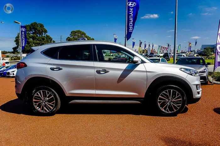 2020 Hyundai Tucson Elite TL3 MY20 4X4 On Demand Platinum Silver