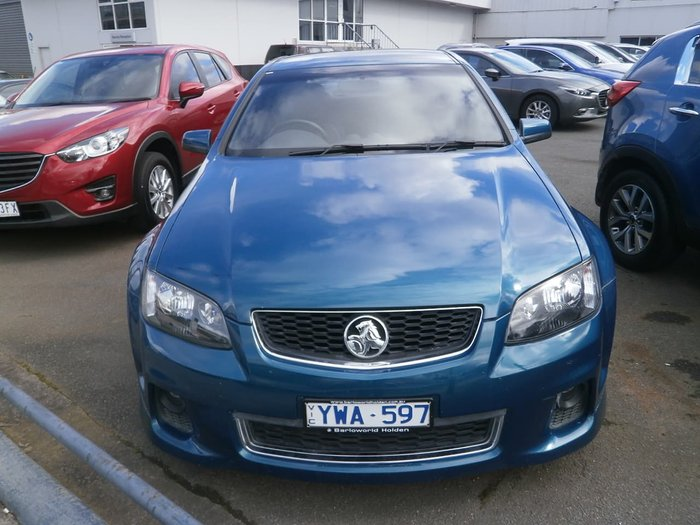 2011 Holden Commodore SV6 VE Series II MY12 Blue
