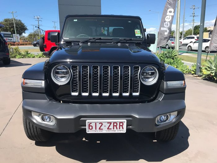2020 Jeep Gladiator Overland JT MY20 Black