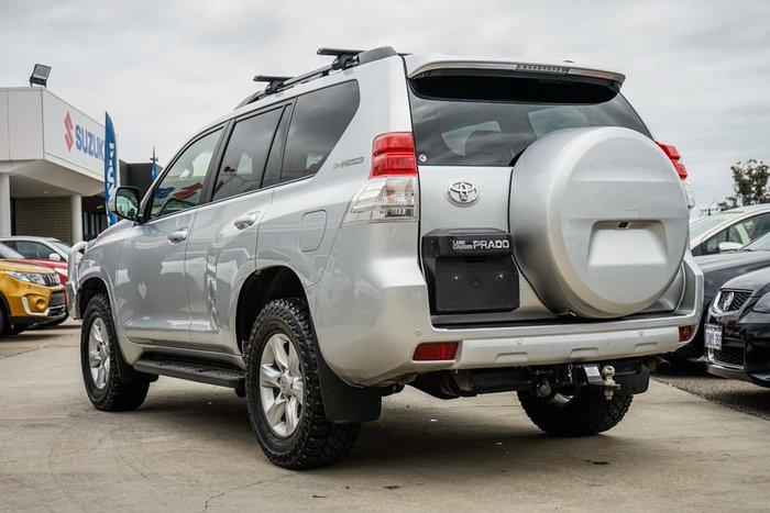 2012 Toyota Landcruiser Prado Altitude KDJ150R 4X4 Constant Silver