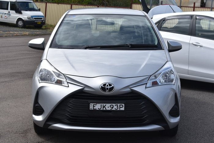 2018 Toyota Yaris Ascent NCP130R Silver