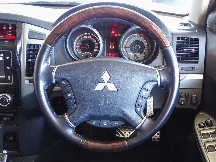 2018 Mitsubishi Pajero Exceed NX MY18 4X4 Dual Range White