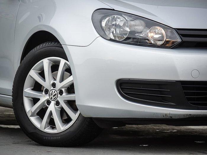 2011 Volkswagen Golf 90TSI Trendline VI MY11 Silver