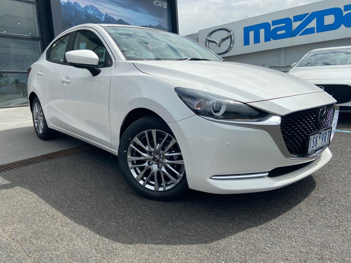 2020 Mazda 2 G15 GT DL Series Snowflake White Pearl