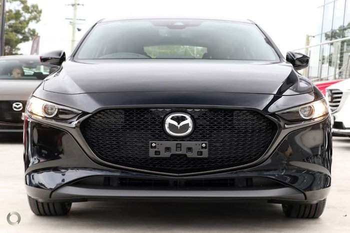 2020 Mazda 3 G25 GT BP Series Black