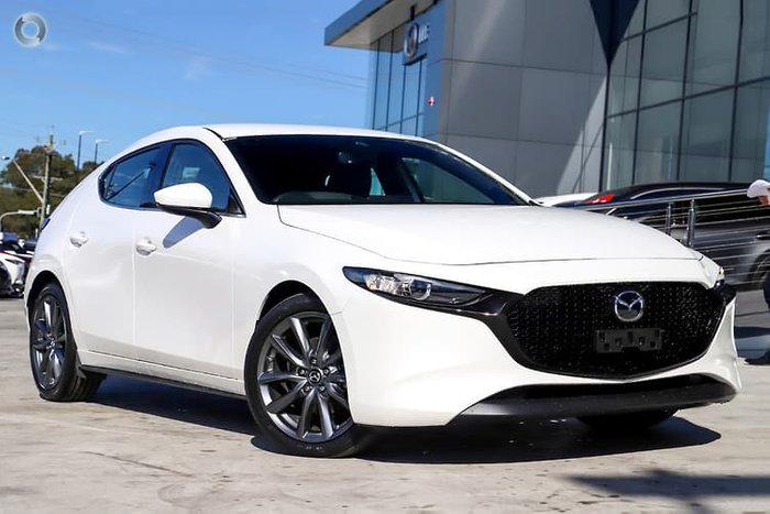 2020 Mazda 3 G20 Touring BP Series White