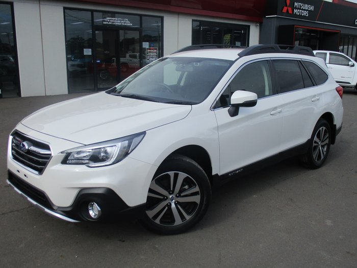 2018 Subaru Outback 2.5i 5GEN MY18 Four Wheel Drive White