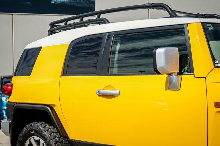 2016 Toyota FJ Cruiser GSJ15R MY14 4X4 Dual Range Yellow