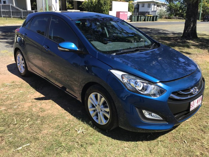 2014 Hyundai i30 SE GD2 MY14 Blue