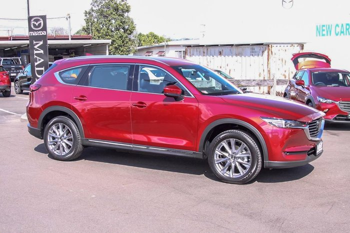 2020 Mazda CX-8 GT KG Series 4X4 On Demand Red