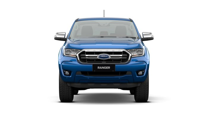 2020 Ford Ranger XLT PX MkIII MY20.75 4X4 Dual Range Blue