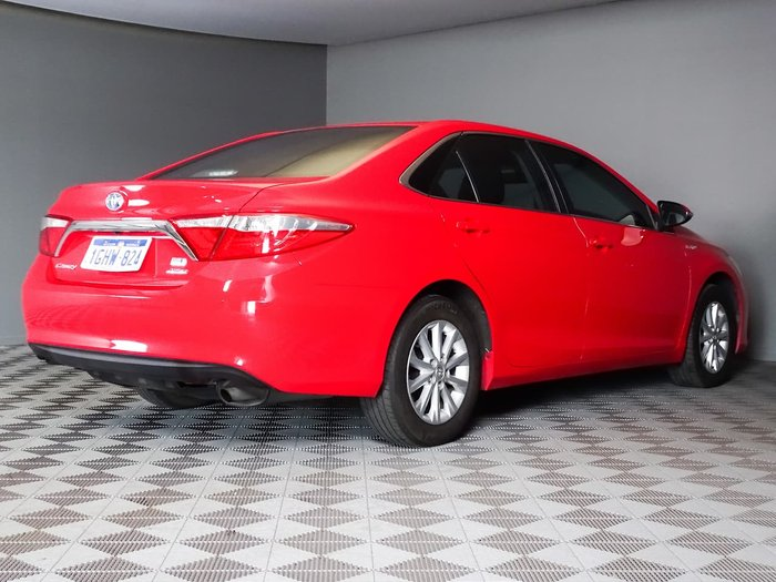 2017 Toyota Camry Altise AVV50R Red