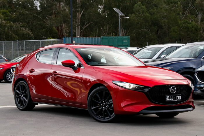 2020 Mazda 3 X20 Astina BP Series Red