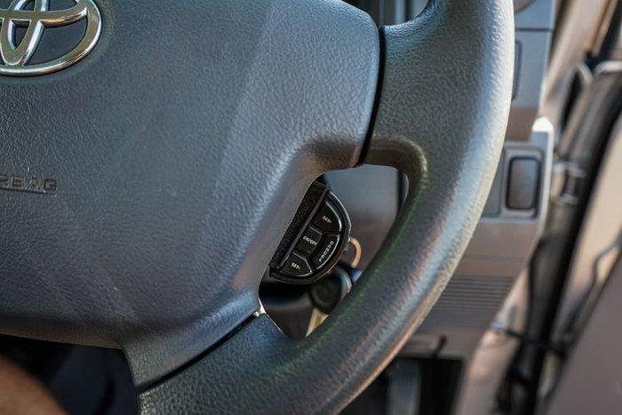 2013 Toyota Landcruiser GXL VDJ79R MY13 4X4 Dual Range Silver