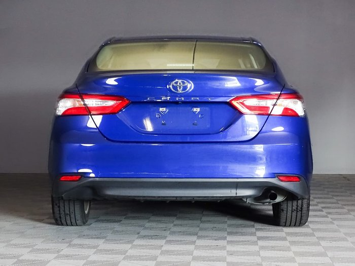 2018 Toyota Camry Ascent ASV70R Blue