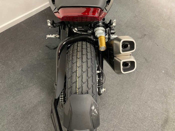 2019 Indian FTR 1200 S (RED STEEL GRAY) Red