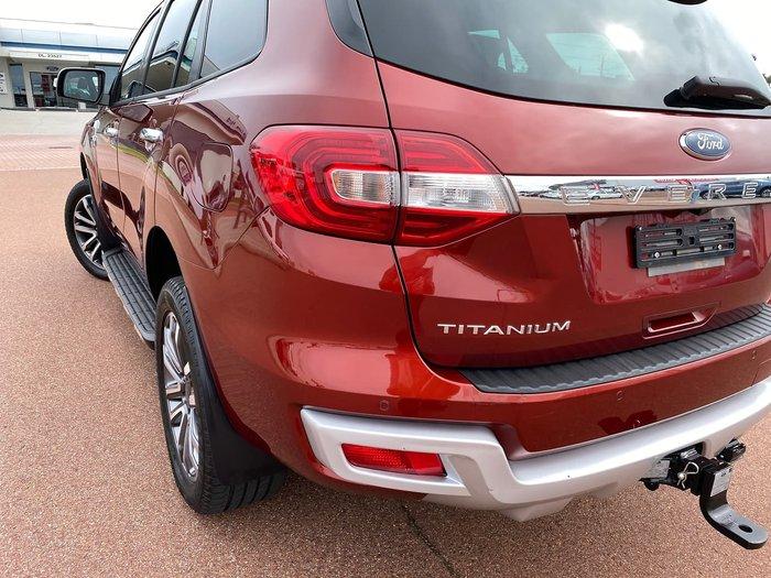 2019 Ford Everest Titanium UA II MY19.75 4X4 Dual Range Red