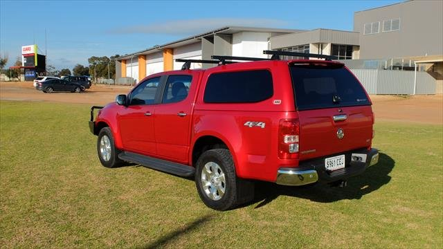 2015 Holden Colorado LTZ RG MY15 4X4 Dual Range Absolute Red