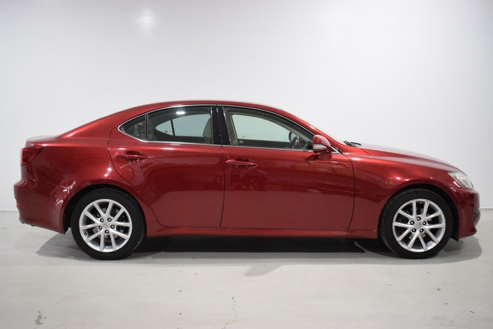 2010 Lexus IS IS250 Prestige GSE20R MY11 Red
