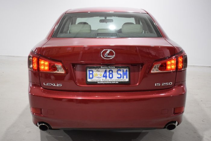 2010 Lexus IS IS250 Sports Luxury GSE20R MY10 Red