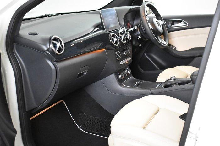 2017 Mercedes-Benz B-Class B200 d W246 White