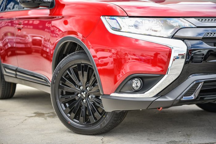 2020 Mitsubishi Outlander Black Edition ZL MY20 Red